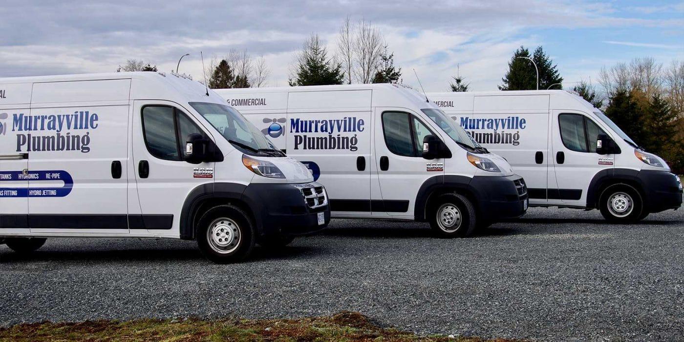 Murrayville Plumbing Service Fleet